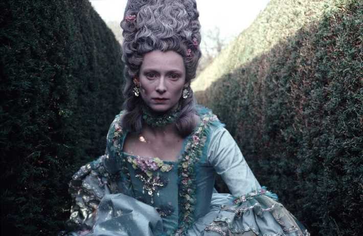 Tilda Swinton in Orlando (dir. Sally Potter, 1992)