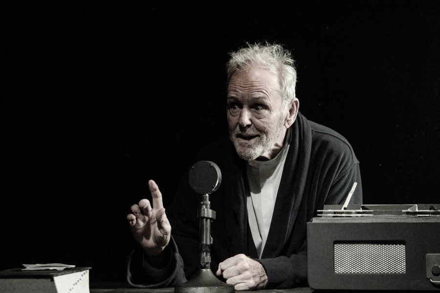 Rick Cluchey stars in a Chicago production of Samuel Beckett's Krapp's Last Tape