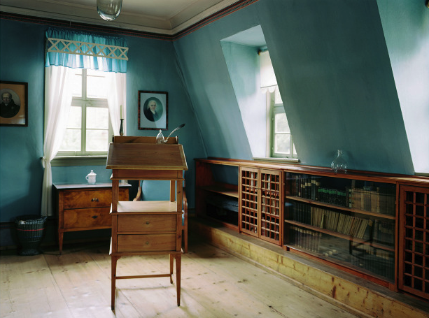 Friedrich Schiller's workspace. Photograph: Patrick Lakey.