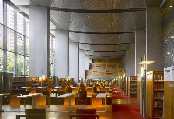 Bibliotheque Nationale in Paris, France