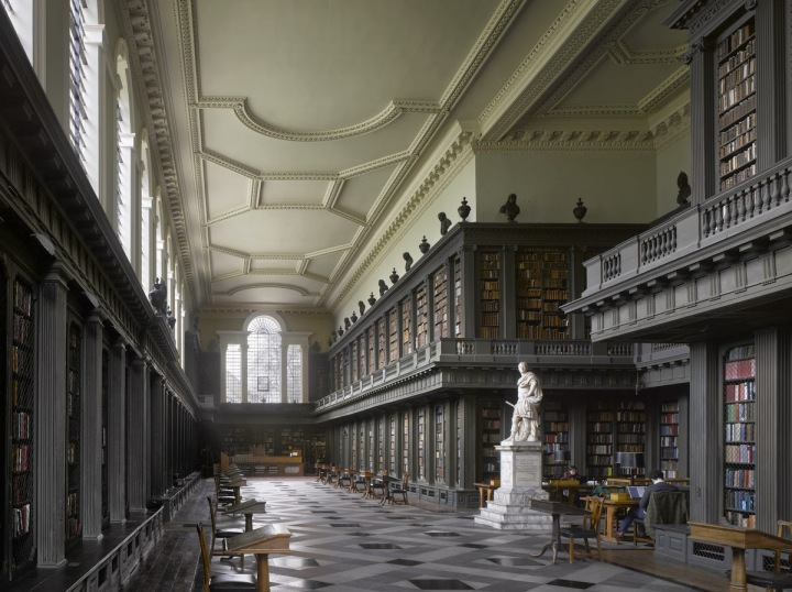 Codrington Library at All Souls College in Oxford