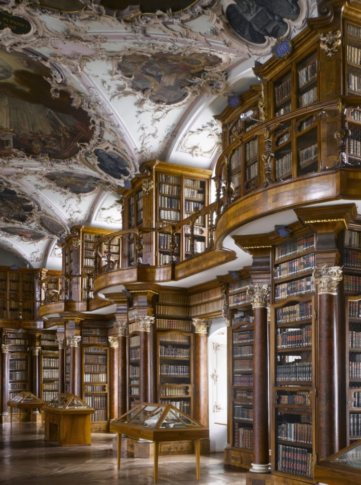 Abbey of St Gall Library in St Gallen, Switzerland