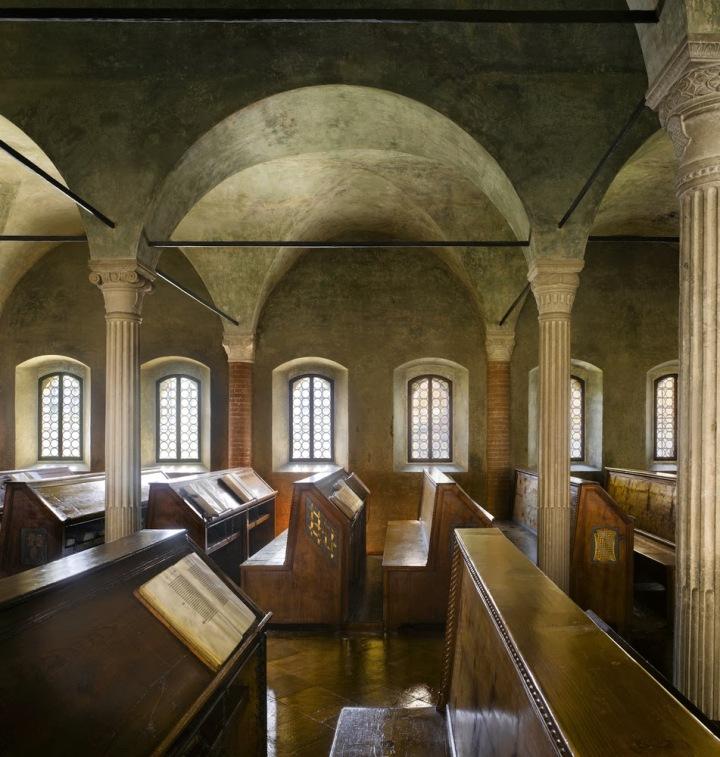 Biblioteca Malatestiana in Cesena, Italy