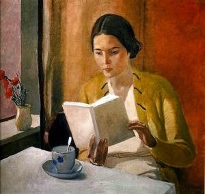 Alexander Deineka, 'Young Woman Reading' (1934)