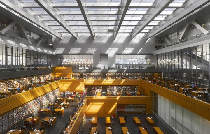 National Library of China in Beijing