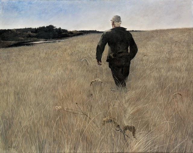Andrew Wyeth, Turkey Pond (1944)
