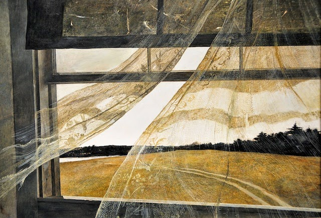 Andrew Wyeth, Wind from the Sea (1947)