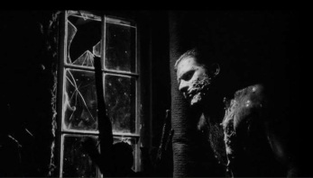 Jack Nance plays The Man in the Planet in David Lynch's Eraserhead (1977)