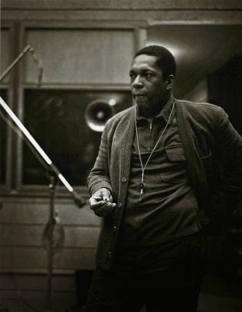 John Coltrane. Photograph: Chuck Stewart