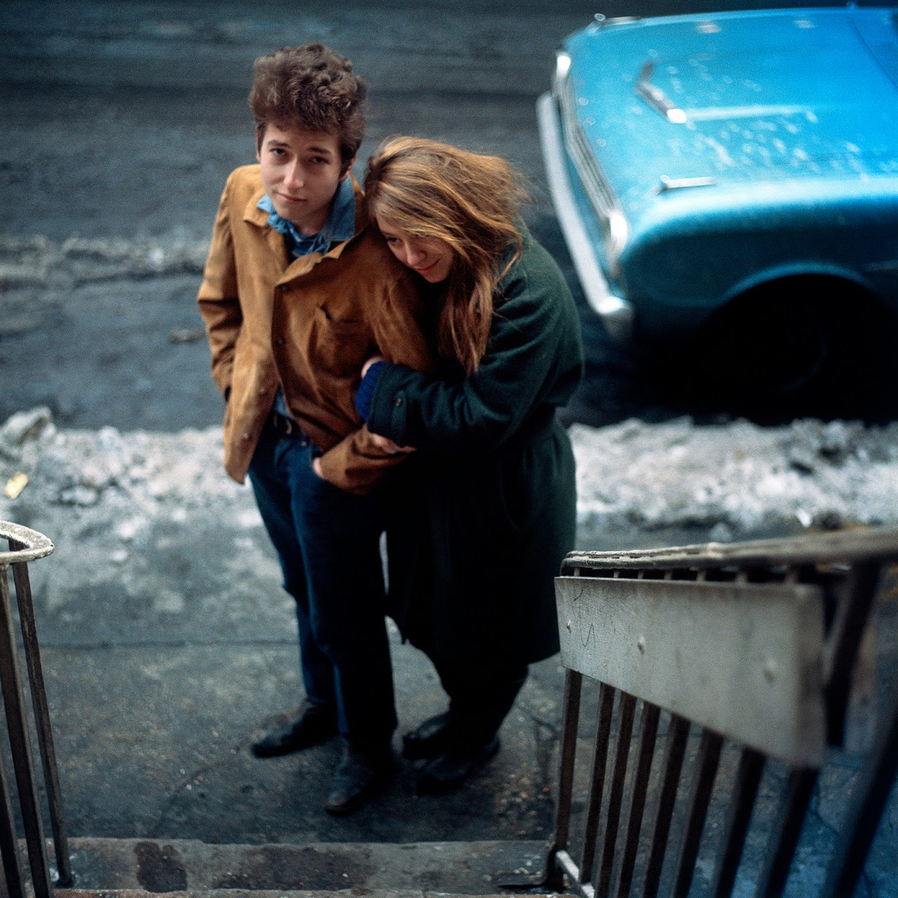 The freewheelin bob dylan 1963 photoshoot for The dylan