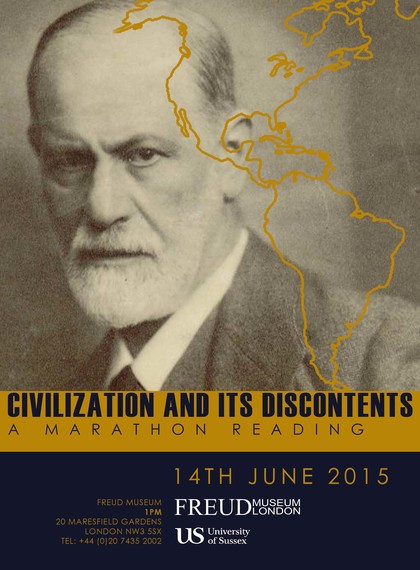 freudmuseum_CivilizationandItsDiscontents_marathonreading