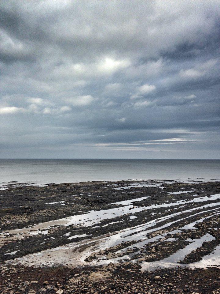The coast of St Andrews, Scotland.