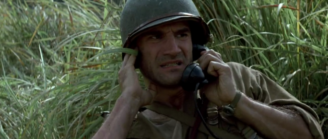 Elias Koteas as Starros in Terrence Malick's The Thin Red Line (1999)