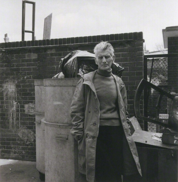 Samuel Beckett in London, 1979. Photograph: Paul Joyce