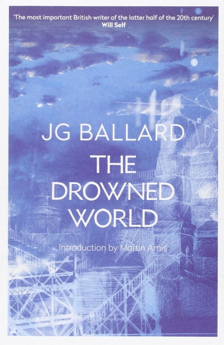 JGBallard-BookCover-4thEstate-TheDrownedWorld-MartinAmis