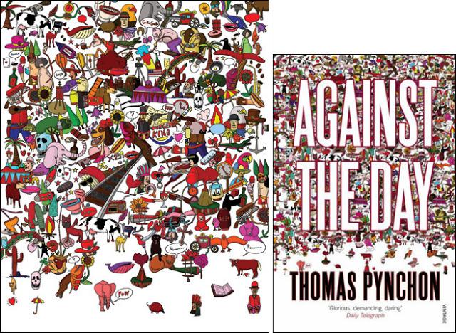 thomas-pynchon-yuko-kondo-paperback-design-against-the-day