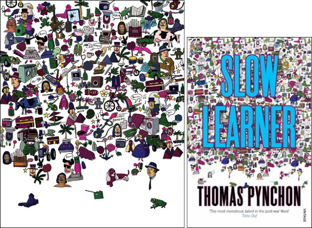 thomas-pynchon-yuko-kondo-paperback-design-slow-learner