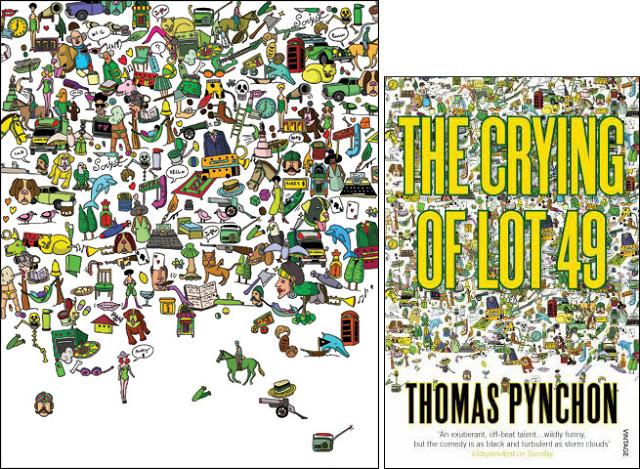 thomas-pynchon-yuko-kondo-paperback-design-the-crying-of-lot-49