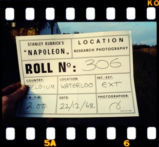 Research photography for Kubrick's Napoleon