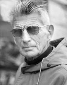 (GERMANY OUT) Beckett, Samuel (*13.04.1906-22.12.1989+) , Schriftsteller, Dramatiker, Irland, Literaturnobelpreis 1969, - Portrait im Parka, - 1978, Foto: Efraim Habermann (Photo by Habermann / ullstein bild via Getty Images)