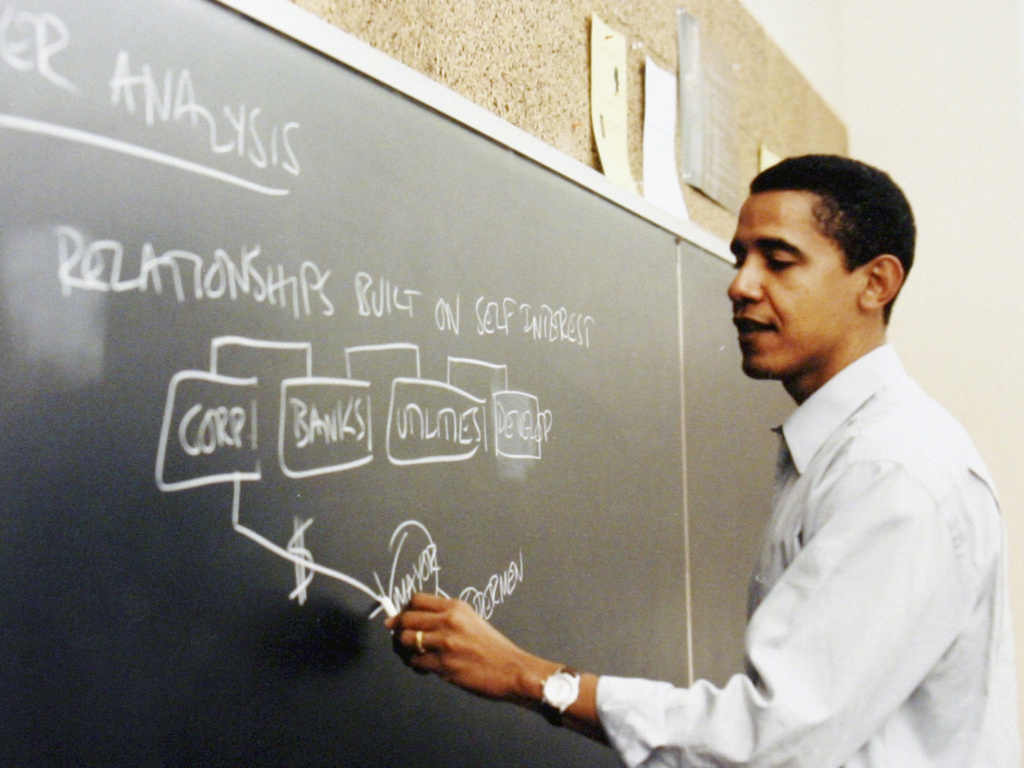 barack obama teaching chalkboard rhystranter com