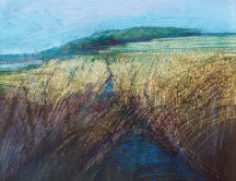 Estuary Landscape by Denis Wirth-Miller, 1978. Private Collection.