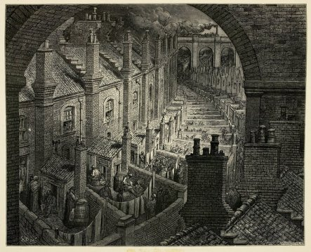 Gustave Doré's vision of Victorian London