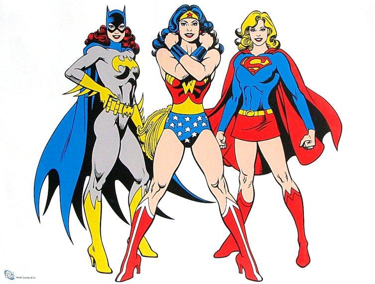 batgirl-wonderwoman-supergirl-dc-comics