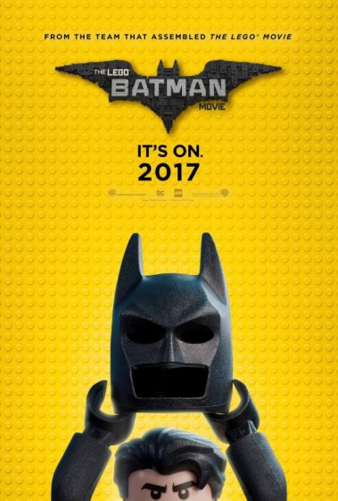 Promotional poster for The Lego Batman Movie (forthcoming, 2017).