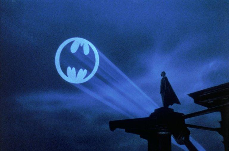 The closing image of Tim Burton's Batman (1989)