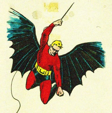 Bob Kane's early conception of Batman
