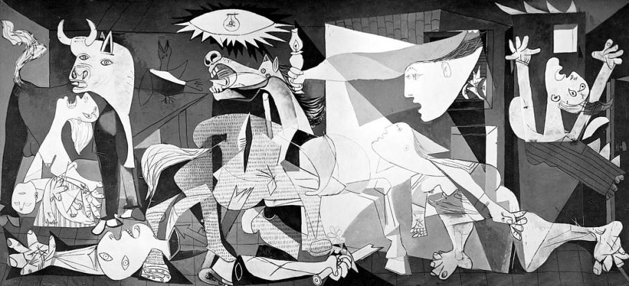 Pablo Picasso, Guernica (1937).