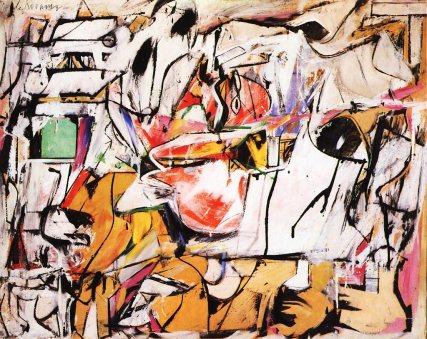 Willem de Kooning, Asheville (1948)