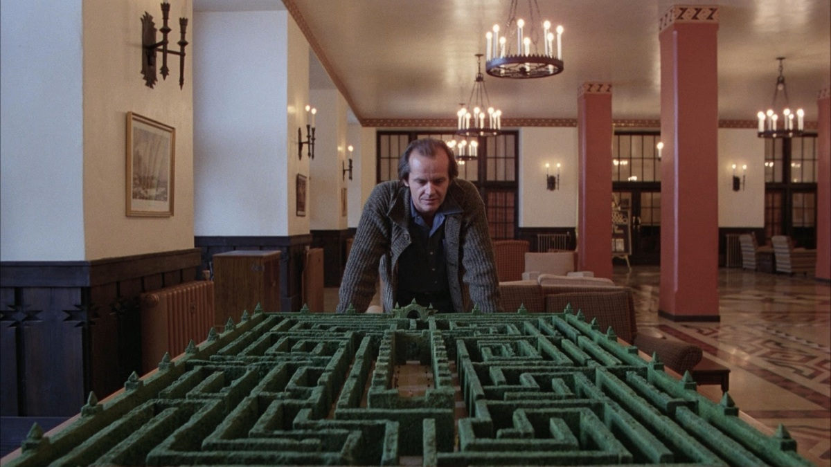 Image result for the shining labyrinth""
