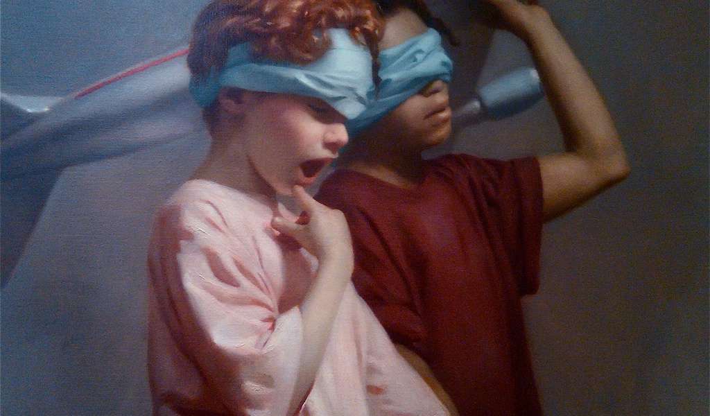 Detail from Graydon Parrish, The Cycle of Terror and Tragedy (2002)