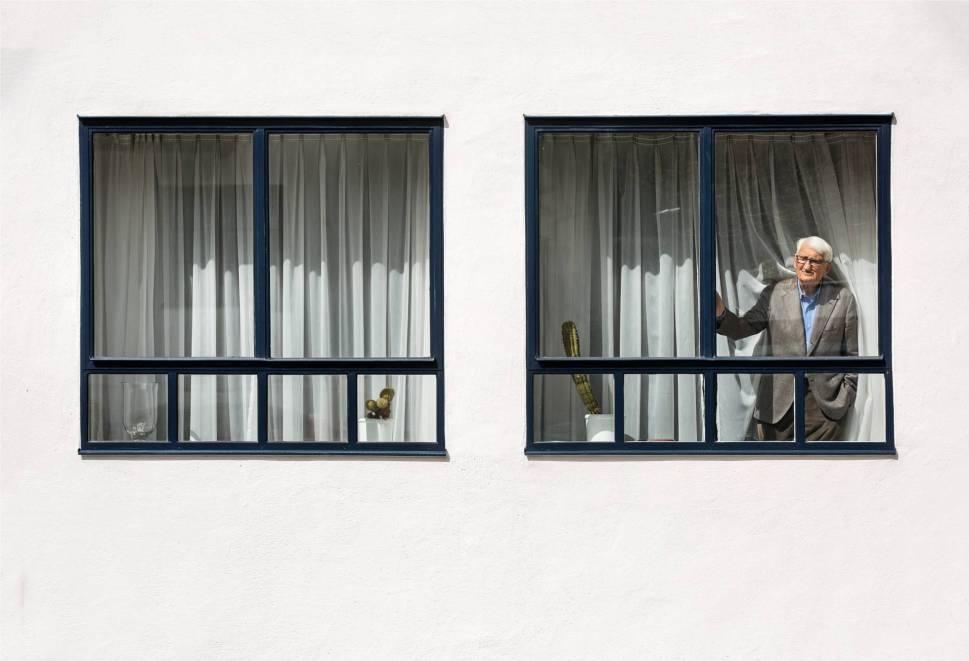 Jürgen Habermas. Photograph: Gorka Lejarcegi.
