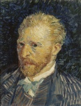 Vincent van Gogh: Self-portrait, 1887